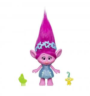 Фигурка  Розочка с малышом 23 см Trolls
