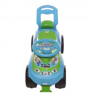Каталка-машина  Автошка, цвет: голубой/зеленый Doloni