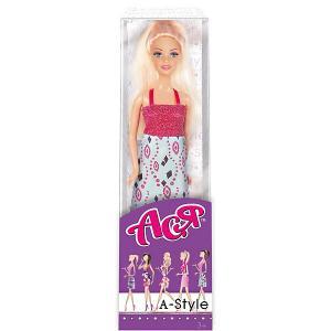 Кукла  А-стайл Ася, 28 см Toys Lab. Цвет: голубой