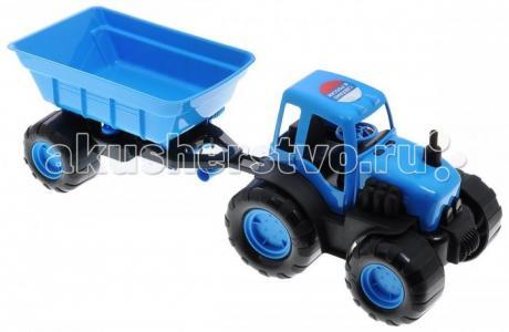 Трактор с прицепом в коробке 15-10174 ZebraToys