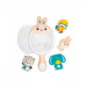 Набор игрушек для ванной Сачок-Зайчик ЯиГрушка