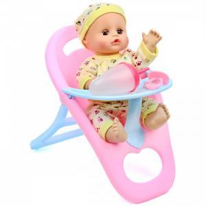 Кукла-Пупсик в стульчике для кормления озвучен 33 см 72366 Lisa Jane