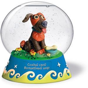 Набор для творчества  Создай Волшебный шар Собачка Magic Moments. Цвет: разноцветный