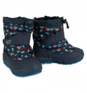 Сапоги , цвет: синий Jumbo