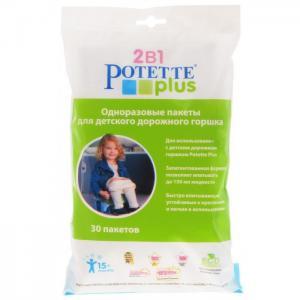 Горшок  Сменные пакеты 30 шт. Potette Plus