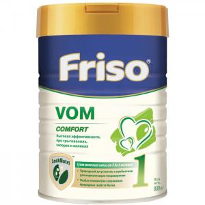 Заменитель VOM 1 с пребиотиками 0-6 мес 800 г Friso