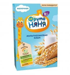 Каша  молочная мультизлаковая с витаминами и минералами 6 месяцев 200 г 1 шт ФрутоНяня