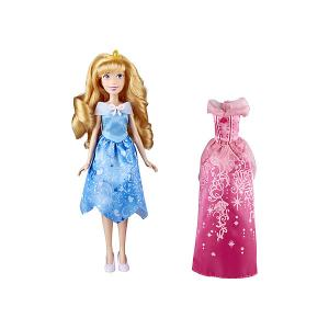 Кукла Disney Princess С двумя нарядами Аврора, 29 см Hasbro