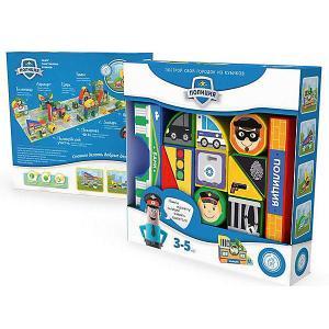 Пластиковые кубики  Полиция, 12 кубиков Magneticus