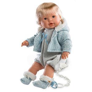 Кукла  Нико 48 см, со звуком Llorens. Цвет: серый