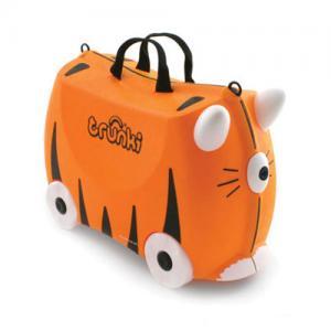 Детский чемодан на колесах Тигр Tipu Trunki