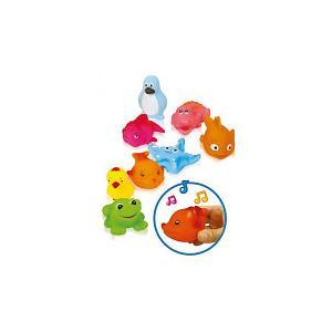 Игрушка для ванной  Водные жители Bebelino. Цвет: разноцветный
