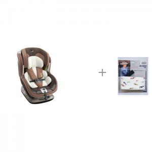 Автокресло  SF012 и фиксатор головы ребенка для автокресла АвтоБра Kiwy