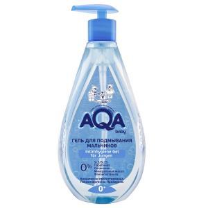 Гель  для подмывания мальчиков, с рождения, 250 мл AQA baby