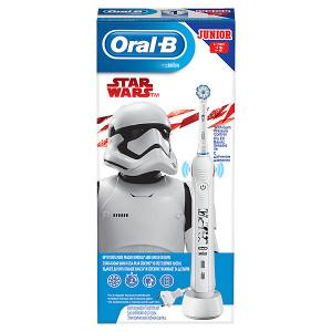 Электрическая зубная щетка  Junior Pro2 Star Wars Oral-B