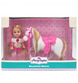 Кукла  Мегги Любимая лошадка 14 см Mary Poppins