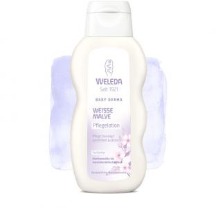 Молочко для гиперчувствительной кожи тела с алтеем 200 мл Weleda