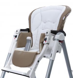 Чехол сменный  к стульчику для кормления Peg-Perego Best Sport, цвет: beige/white Esspero