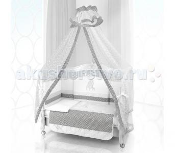 Комплект в кроватку  Unico Punto Di Giraffa 120х60 (6 предметов) Beatrice Bambini
