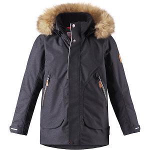 Куртка Outa  для мальчика Reima. Цвет: серый