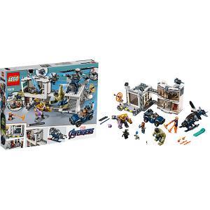 Битва на базе Мстителей Super Heroes 76131 (10) LEGO