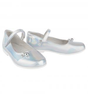 Туфли , цвет: серебряный Mursu