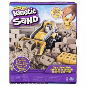 Набор для лепки Кинетический песок Бульдозер Kinetic Sand