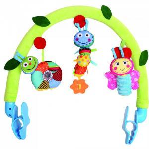 Дуга на коляску Счастливые гусенички Biba Toys