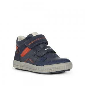 Кроссовки , цвет: синий/красный Geox