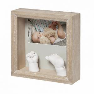 Рамочка с объёмными слепками и фотографией Классика Baby Art