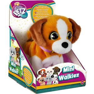 Инерактивный щенок  Club Petz Mini Walkiez Beagle IMC Toys. Цвет: коричневый