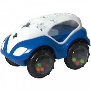 RU Машинка-неразбивайка  бело-синяя Baby Trend