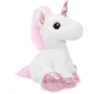 Мягкая игрушка Aurora Единорог, розовый, 30 см. Цвет: разноцветный