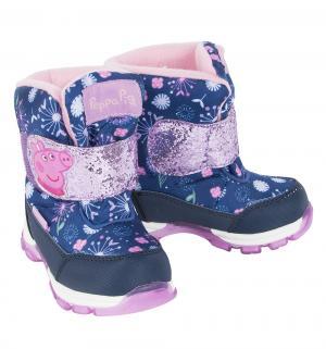Ботинки  Свинка Пеппа, цвет: синий Kakadu