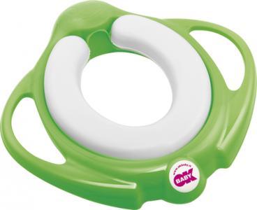 Сидение на унитаз  Pinguo Soft, цвет: зеленый Okbaby