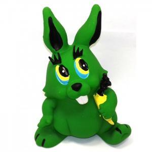 Латексная игрушка Заяц большой 11061 Lanco