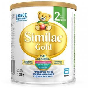 Молочная смесь  Gold 2 6-12 месяцев, 400 г Similac