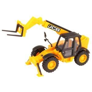 Игровой набор  JCB Стройка - Трактор с вилами HTI