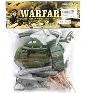 Игровой набор  Военный солдаты техника Shantou Gepai