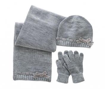 Подарочный набор шарф, шапка и перчатки 09004560 Chicco