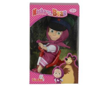 Кукла  Маша в фуражке с велосипедом Simba