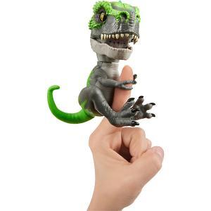 Интерактивный динозавр  Fingerlings Треккер, 12 см WowWee