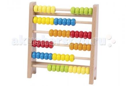 Развивающая игрушка  Счёты деревянные (60) 18 см Goki