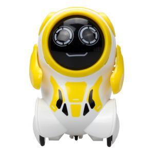 Интерактивный робот  Покибот 7.5 см цвет: желтый/белый Silverlit
