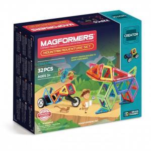 Конструктор  Магнитный Adventure Mountain 32 set Magformers