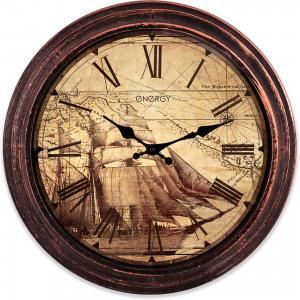 Часы настенные Корабль, ENERGY