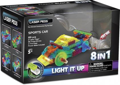 Освещение  во время движения Laser Pegs