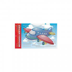 Мягкая мозаика Самолет формат А4 (29.5х20 см) Издательство Рыжий кот