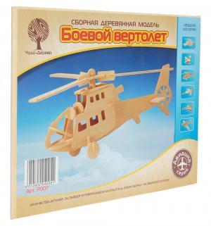 Деревянный конструктор  Вертолет Wooden Toys