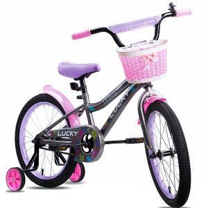 Двухколёсный велосипед  Lucky, 18 Navigator. Цвет: розовый